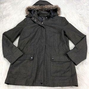 J. Jill  Long Line Anorak Utility Jacket